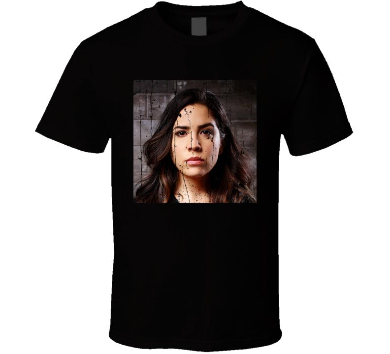 Audrey Esparza Agent Tasha Zapata Blind Spot TV Show Character T Shirt