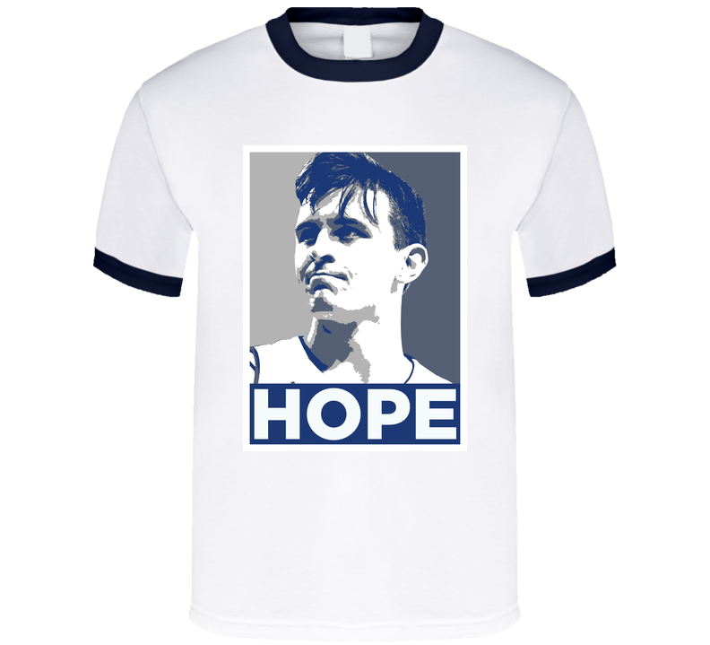 Nick McGlynn Drake Basketball Hope T Shirt