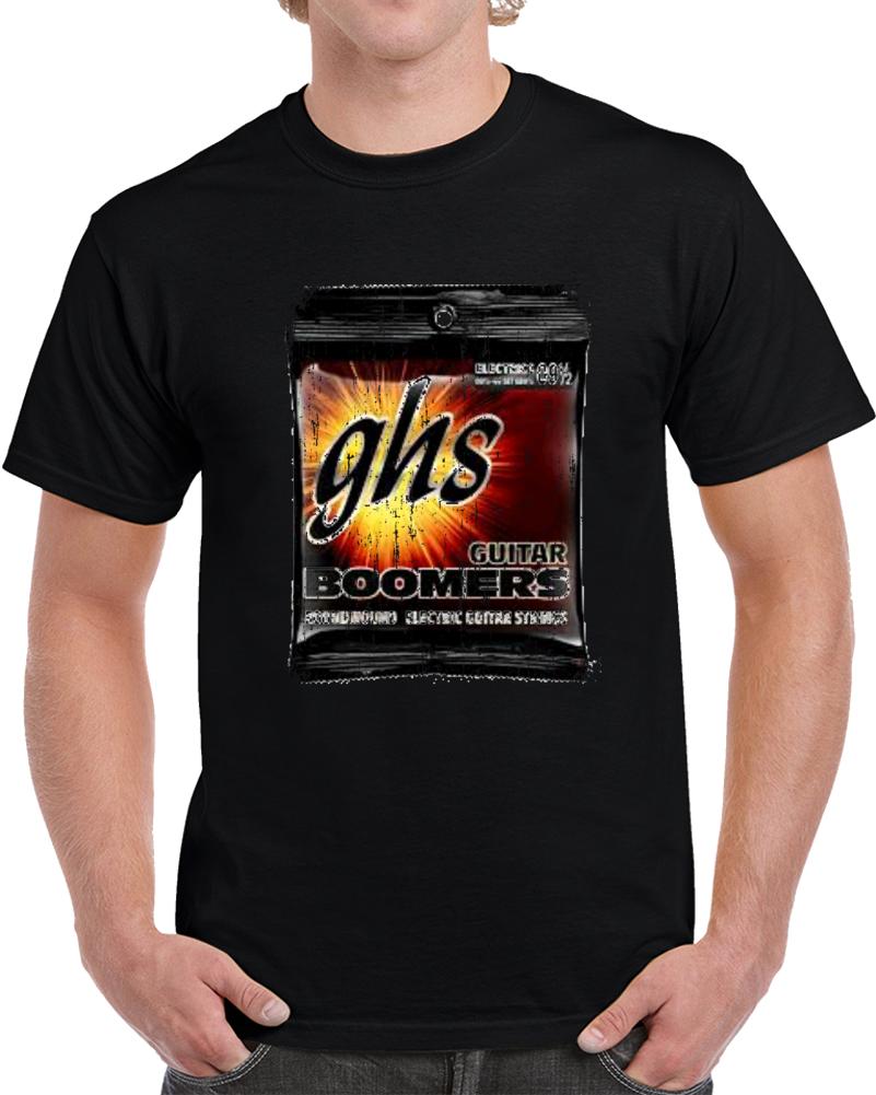 Ghs Boomers Guitar Strings Guitarist Fan Gift T Shirt