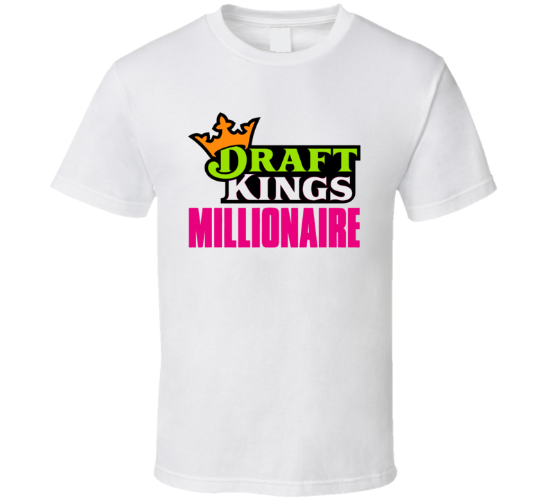 Draft Kings Millionaire Funny Slum Dog Parody Sports Betting Fan T Shirt
