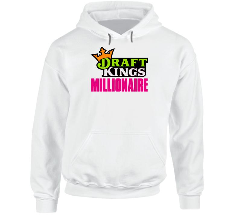 Draft Kings Millionaire Funny Slum Dog Parody Sports Betting Fan Hoodie