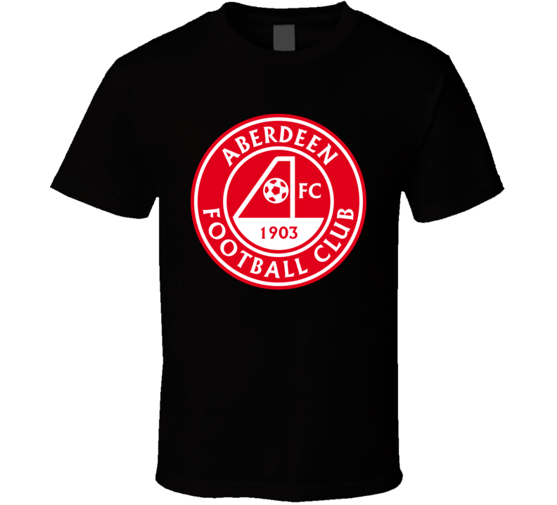 Aberdeen Fc Scottish Premiership Football Fan T Shirt