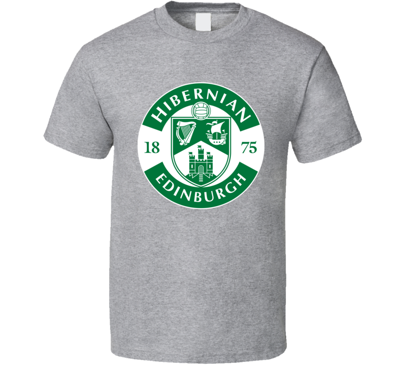 Hibernian Fc Scottish Premiership Football Fan T Shirt
