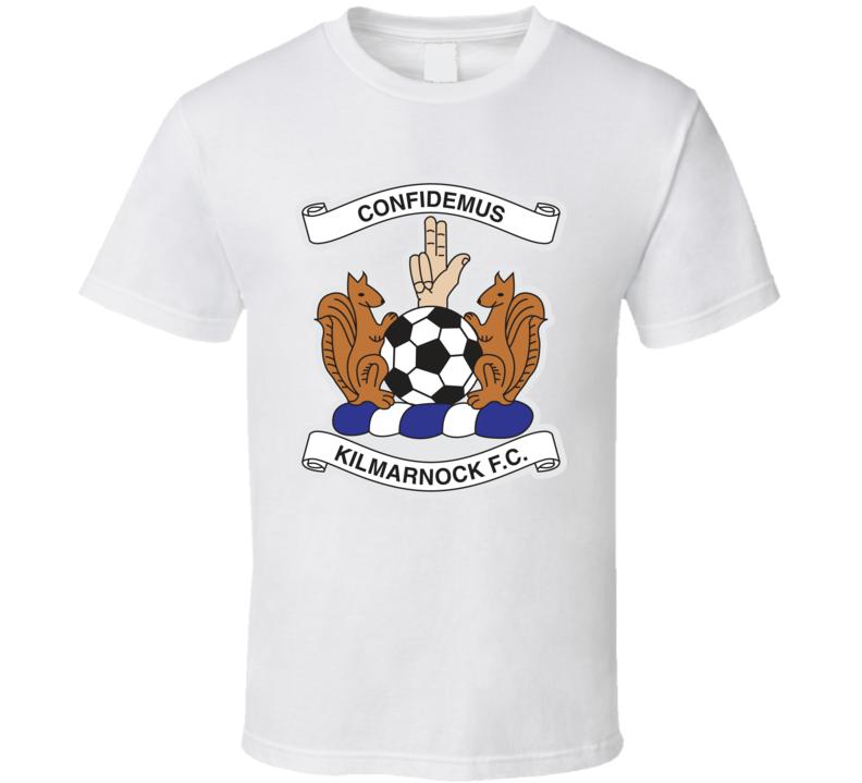 Kilmarnock Fc Scottish Premiership Football Fan T Shirt