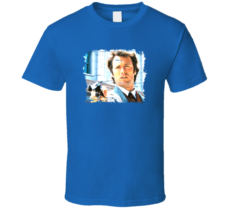 Harry Callahan Dirty Harry Cool Movie Character Aged Look T Shirt