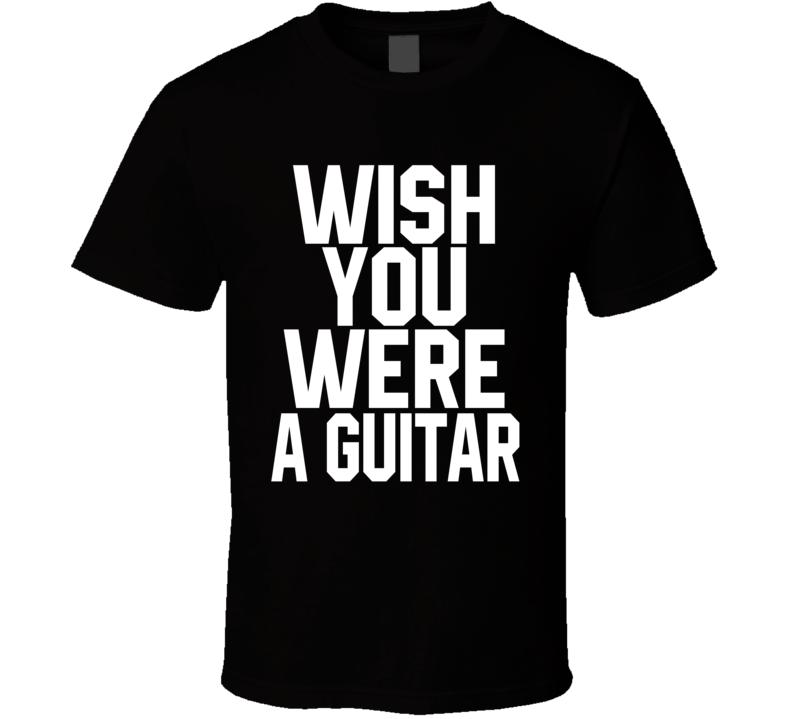 A Guitar T Shirt