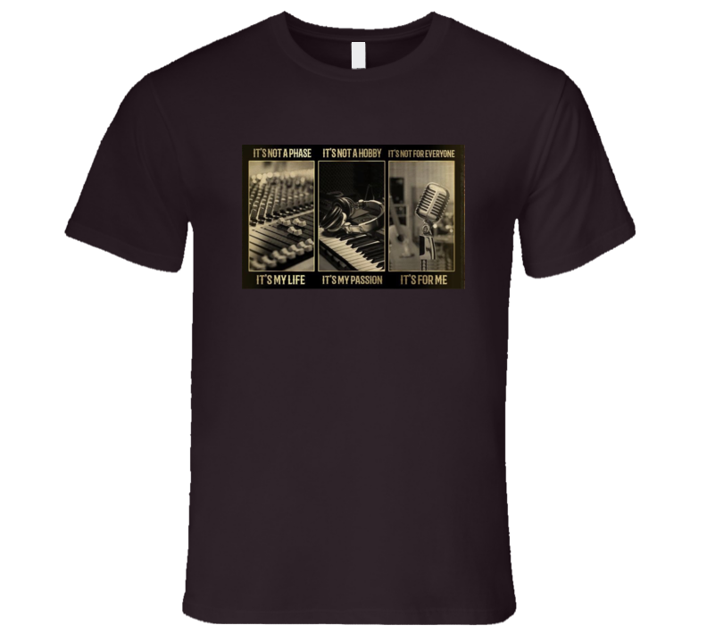 Music Is My Thing T Shirt