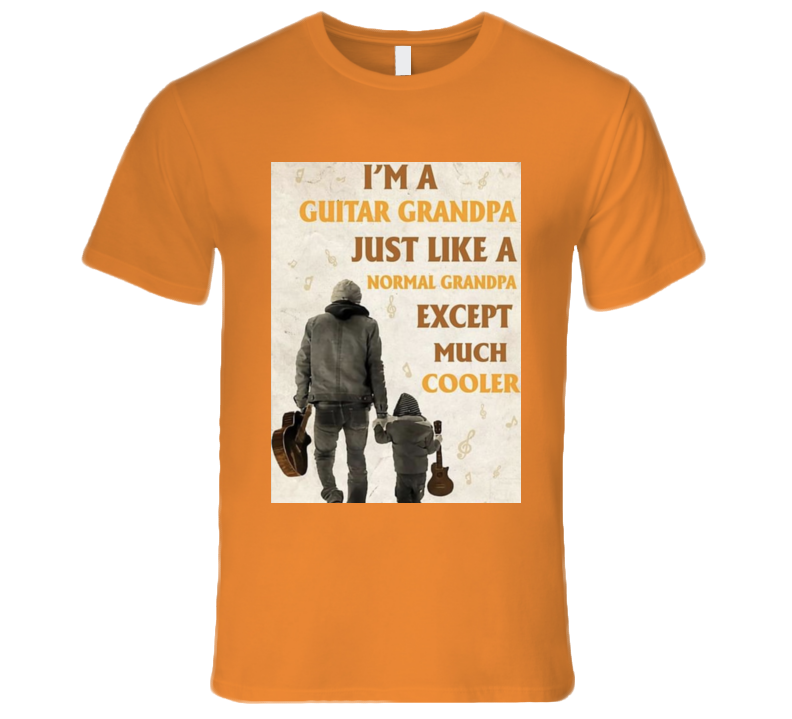 Guitar Papa T Shirt