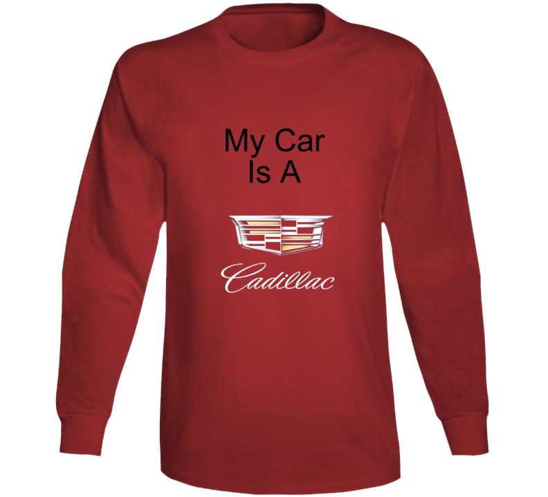 My Car Is Long Sleeve T Shirt