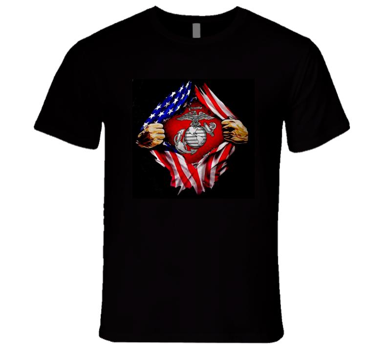 Breaking Usmc T Shirt