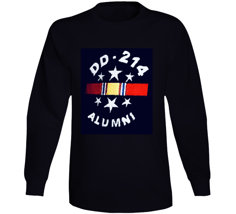 Dd214 Long Sleeve T Shirt