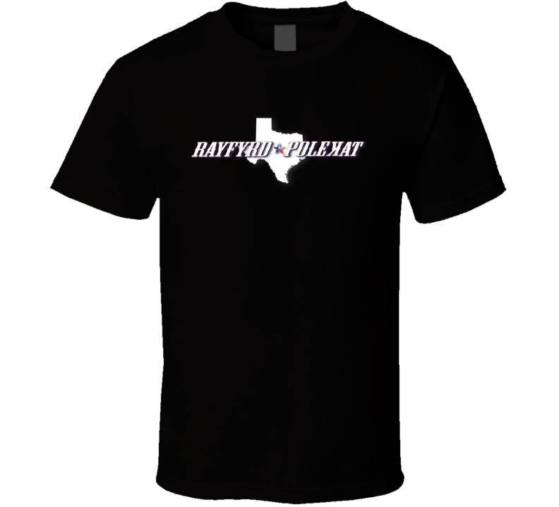Rayfyrd Polekat logo T Shirt