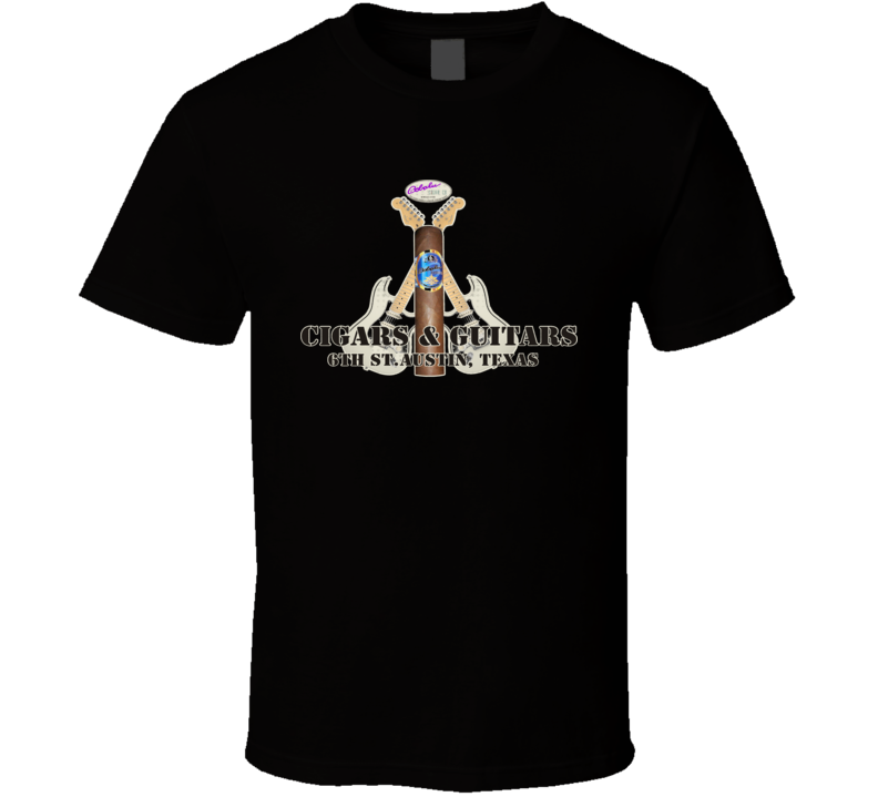Cigars & Guitars T Shirt