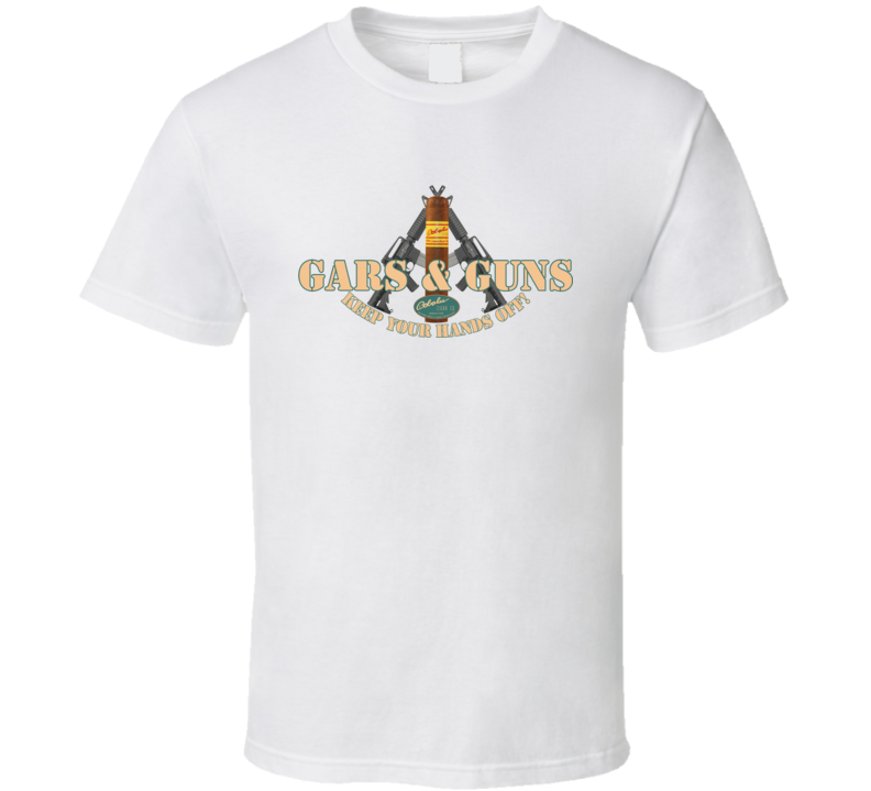 gars and guns white T Shirt