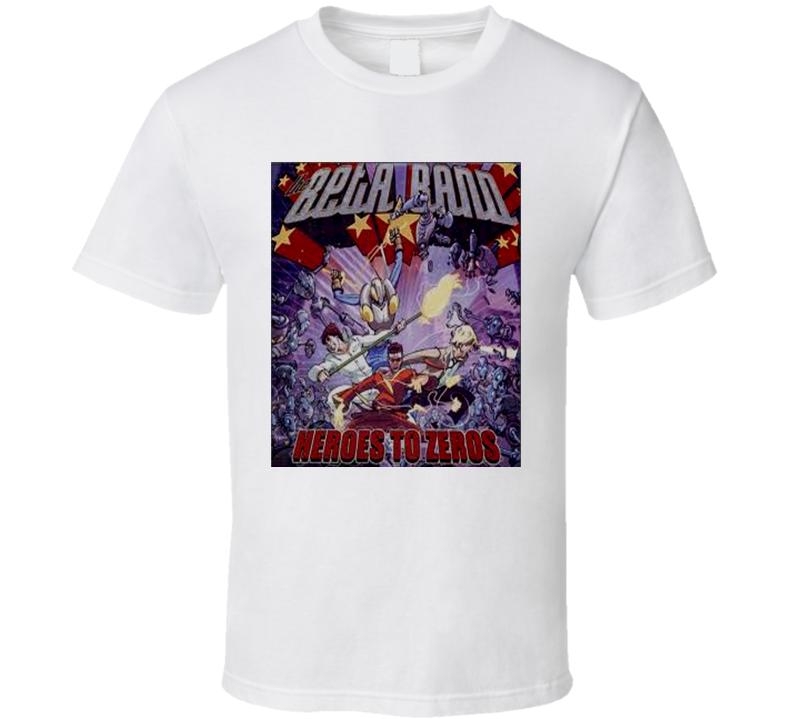 Beta Band Heros to Zeros Music T Shirt