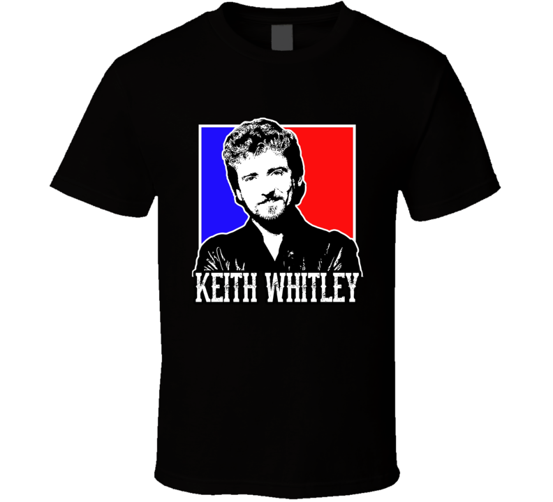 Keith Whitley American Country Music Singer Artist Memorial Fan T Shirt