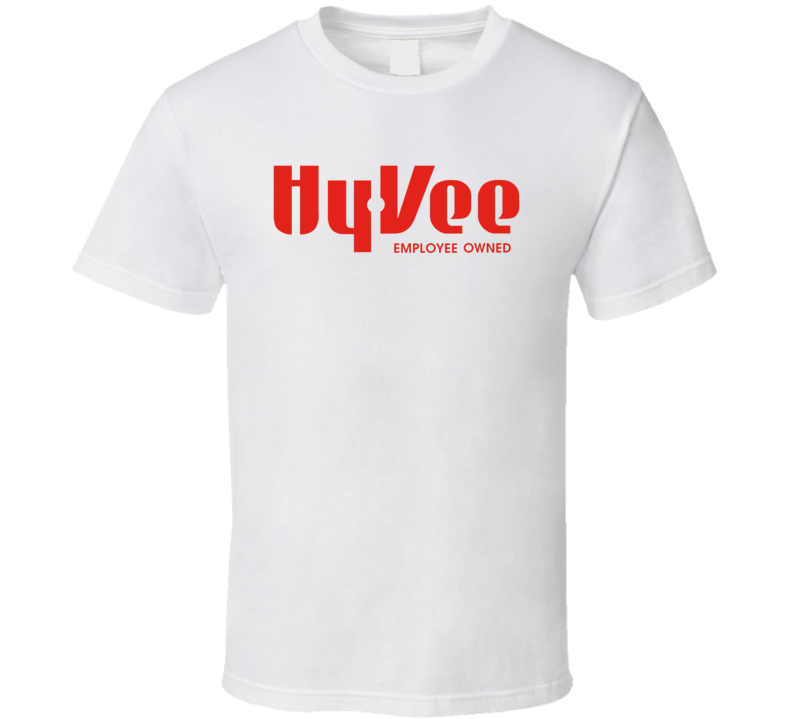 Hy Vee Employee Owned Grocery Store Logo T Shirt
