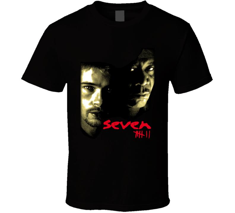 Seven Horror Movie T Shirt