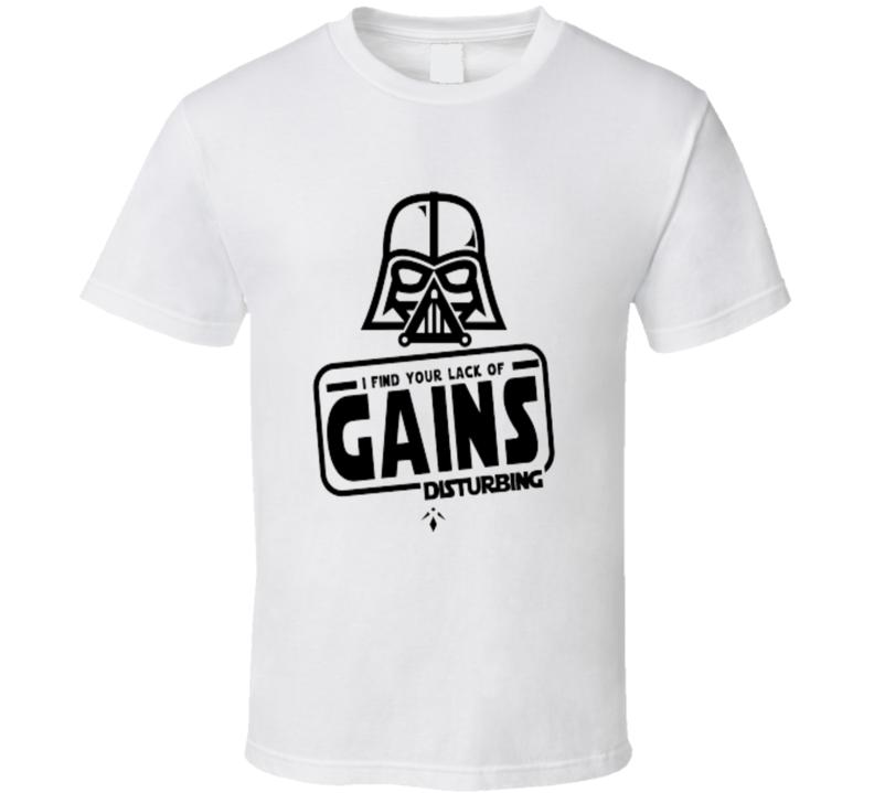 45bbbcf4 Darth Vader I Find Your Lack Of Gains Disturbing Funny Workout ...