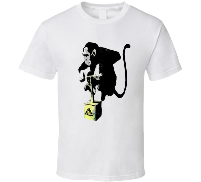 Jessie Eisenberg Lex Luthor Trending Monkey With Explosive From Superman Vs Batman T Shirt
