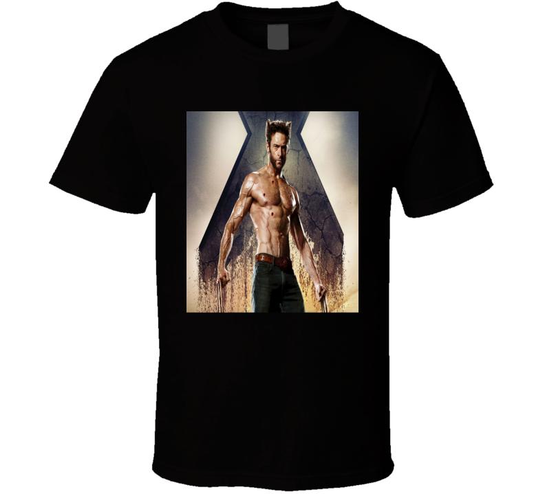 Hugh Jackman Wolverine X Men Apocalypse Trending Movie T Shirt