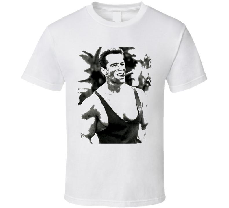 Arnold Schwarzenegger Smokin Cigar Commando Trending Classic T Shirt