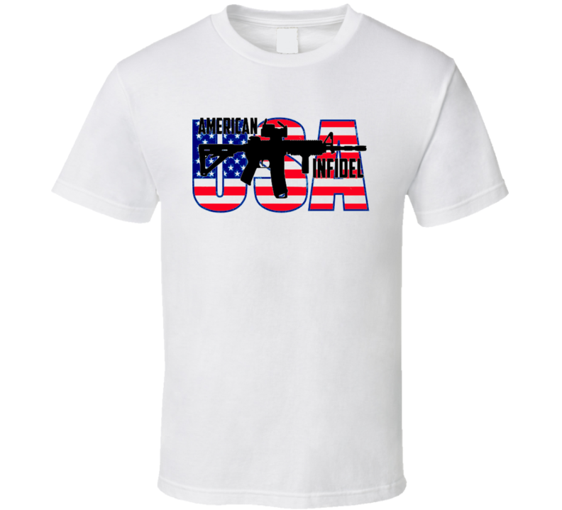 American Infadel Military Us Army Parody Sniper Pride Usa T Shirt.png