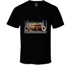 Rat Rod Poster Tshirt