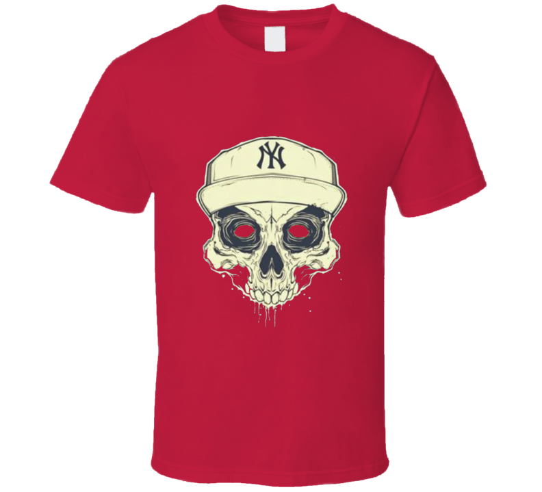 NY Skull T Shirt