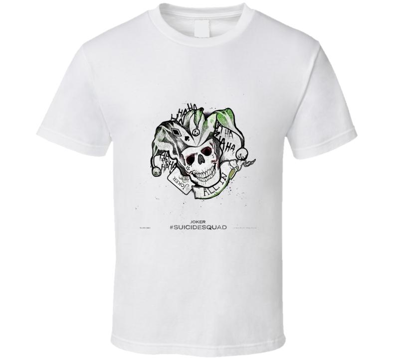 Suicide Squad Joker Tshirt