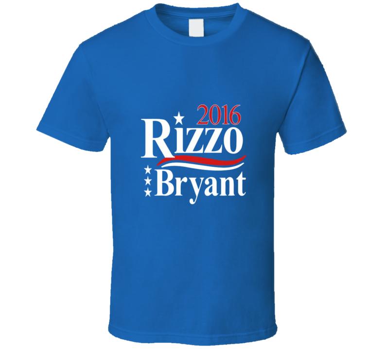 Rizzo Bryant Cubs Tshirt