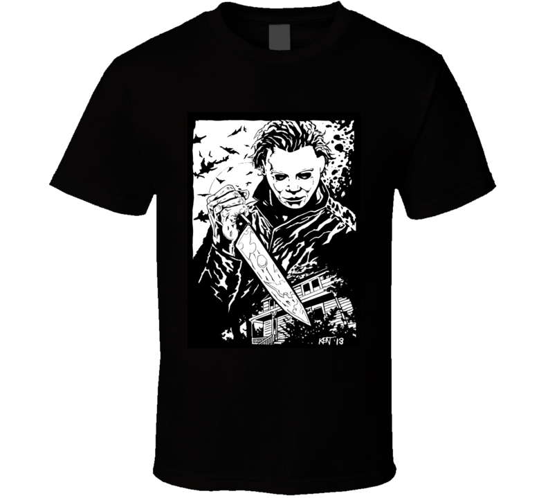 Michael Myers Tee T Shirt