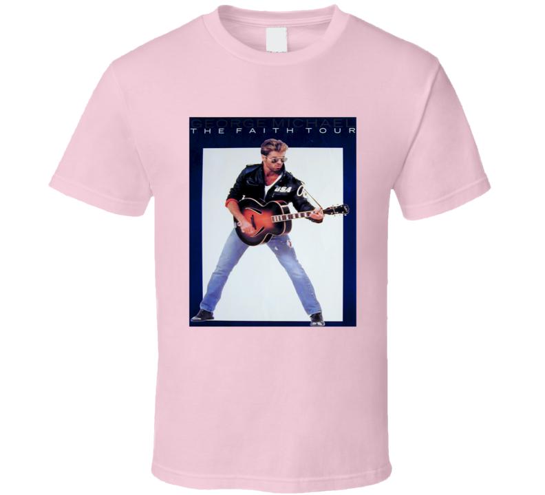 Faith Tour Pink Tshirt