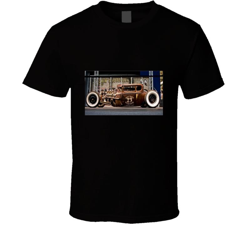 Rat Rod Poster Tshirt