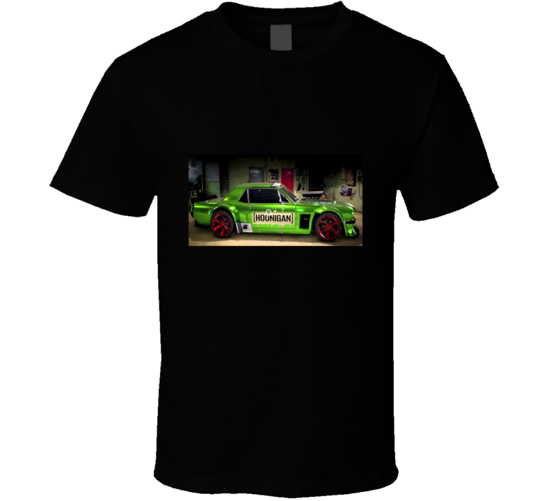 Green Mustang Tshirt