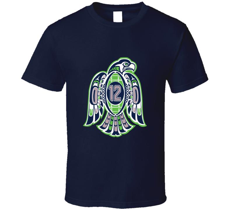 Seahawks 12th Man Tee T Shirt