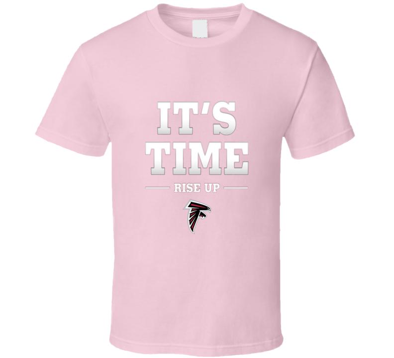 Atlanta Falcons Rise UP its Time Tshirt