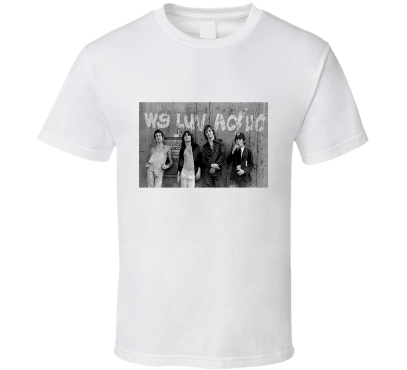 AC DC Group Tshirt (All Colors Available)