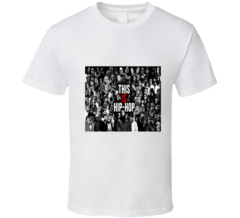 This Is Hip Hop Tshirt (all colors and styles available)