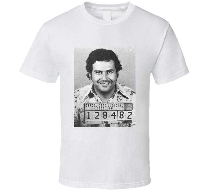 Pablo Escabar Mug Shot Tshirt