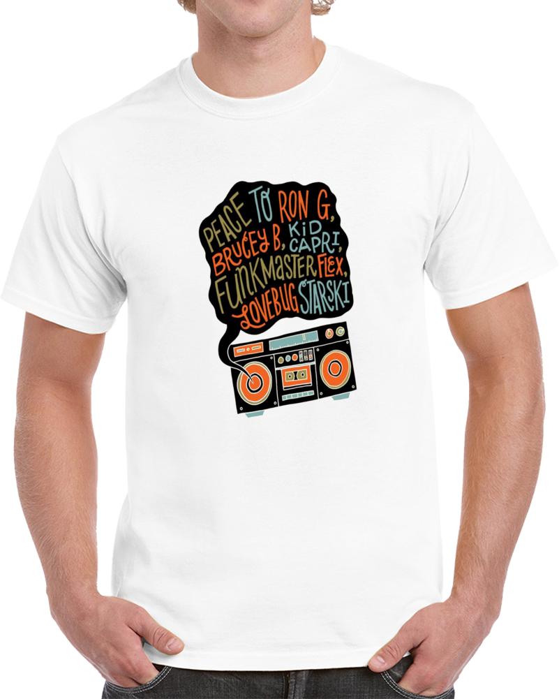 Biggie Smalls Peace To Ron G, Lovebug Starski T Shirt