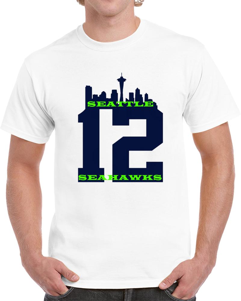 Seattle Seahawks 12th Man Tshirt
