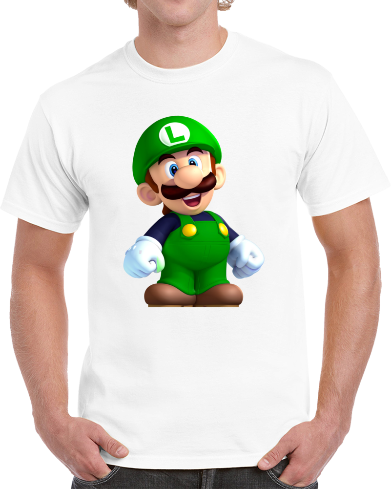 Nintendo Luigi Tshirt (all Styles And Colors Available)