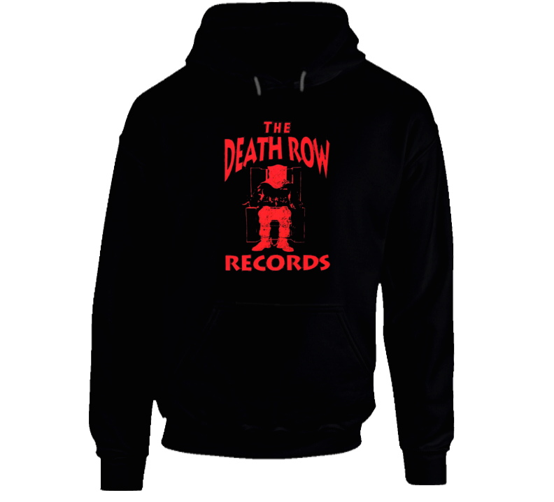 The Death Row Records Pullover Men's Hoodie