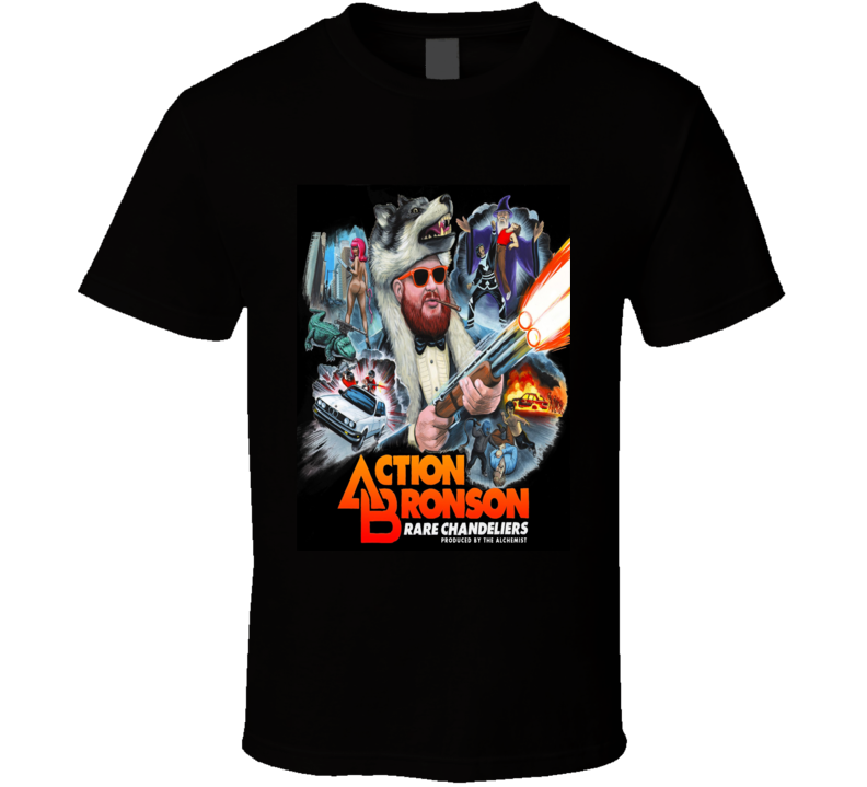 Action Bronson Hip Hop Tshirt (all Colors And Styles Available)