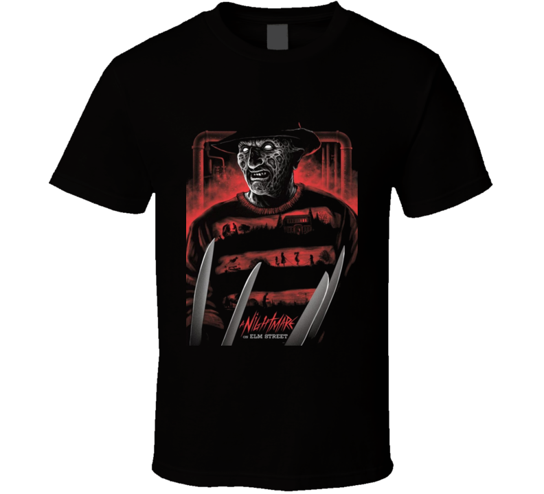 Nightmare On Elm Street T Shirt