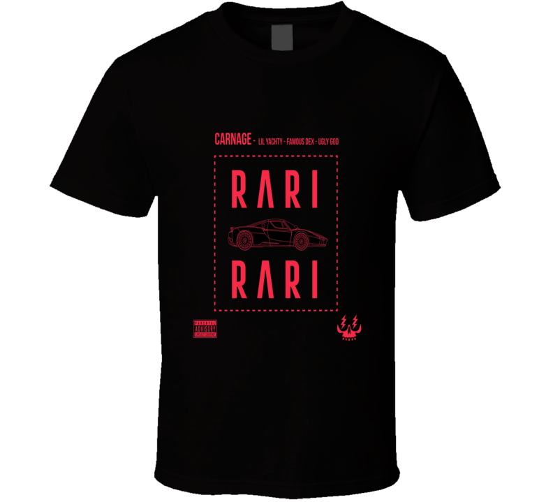 Rari Rari Lil Yachty Tshirt (all Colors And Styles Avaliable)