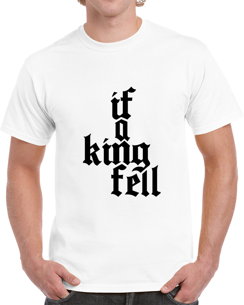 If A King Fell Travis Scott Tshirt (all Styles And Colors Available)