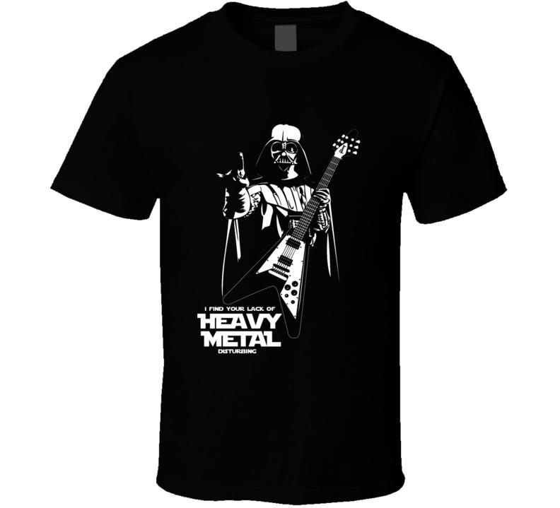 Darth Vader Heavy Medal T Shirt