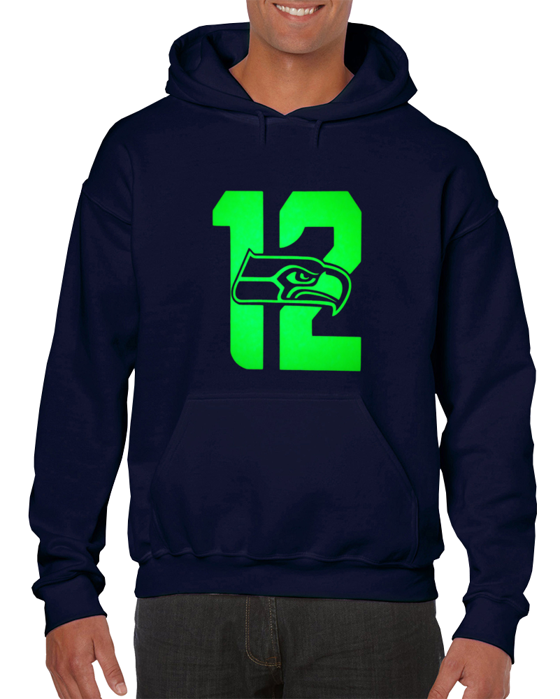 Seatle Football Team 12th Man Hoodie